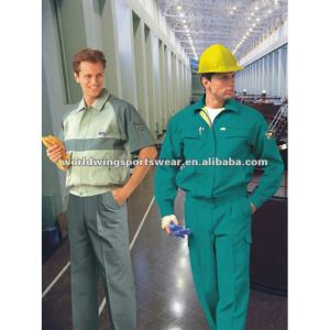 Men's polyester radiation protective workwear uniform