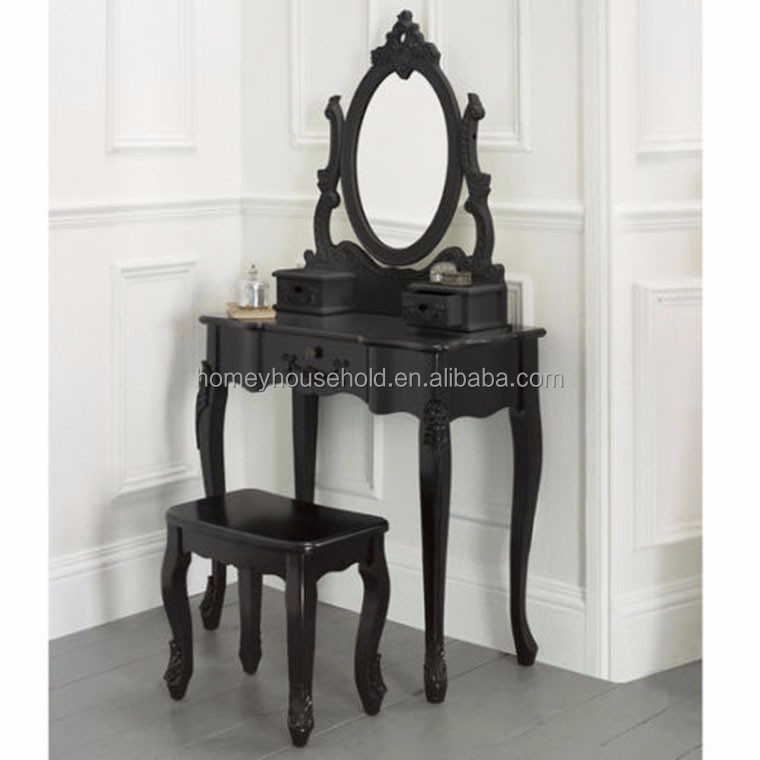 Français Baroque Chambre Ensemble De Meubles Table De Console Avec ...