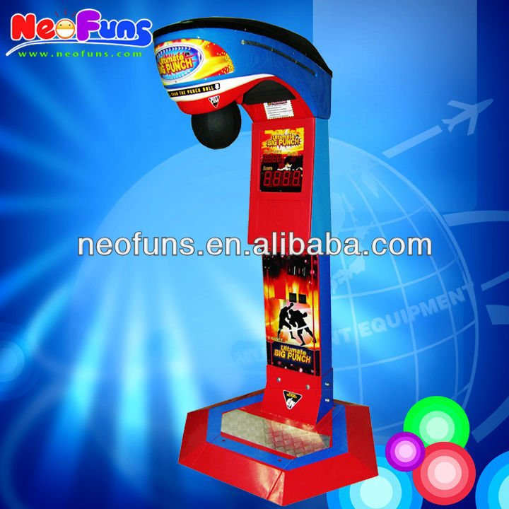 2016 Hot Sale Boxing Punch Machine / Boxing Game Machine / Boxer Machine