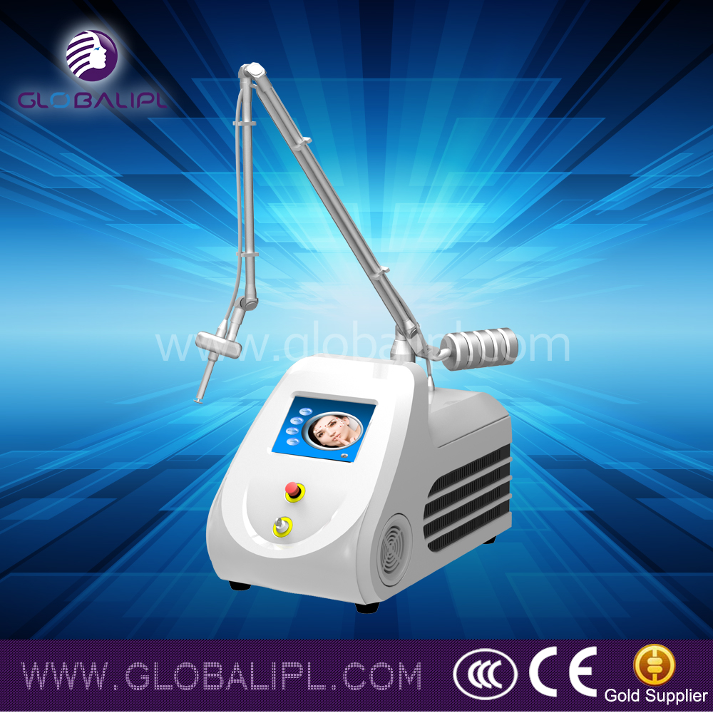 Reliable skin reconstruction scar therapy fractional co2 laser on desk