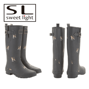 Customized Mens Wellies / Plastic Wellington Boots / Safety Gumboots