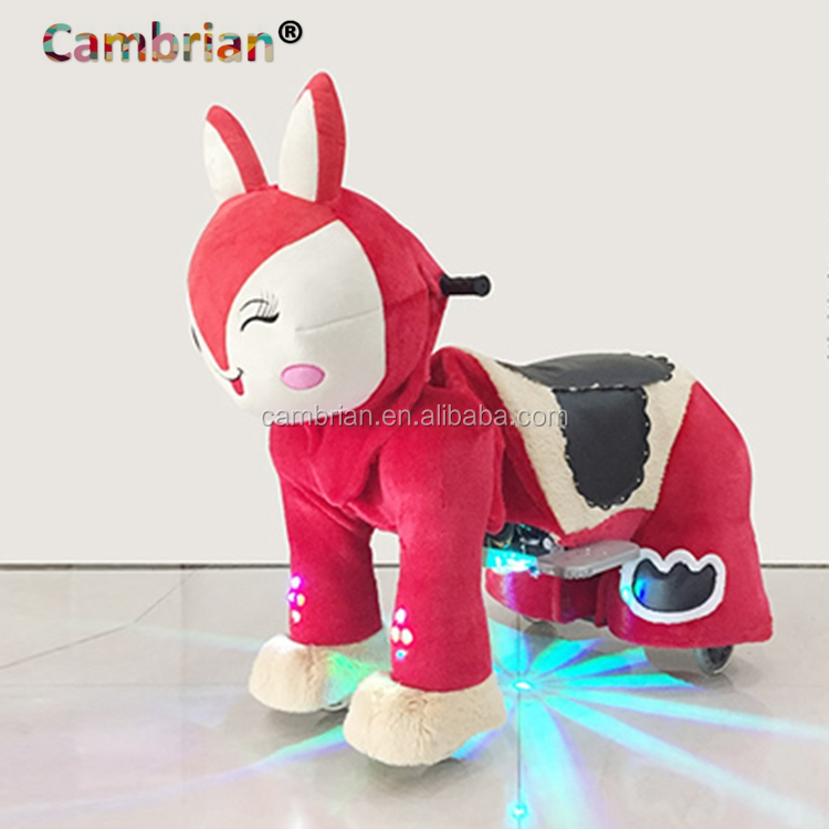 Shopping mall electric animal adult toy car with wheels