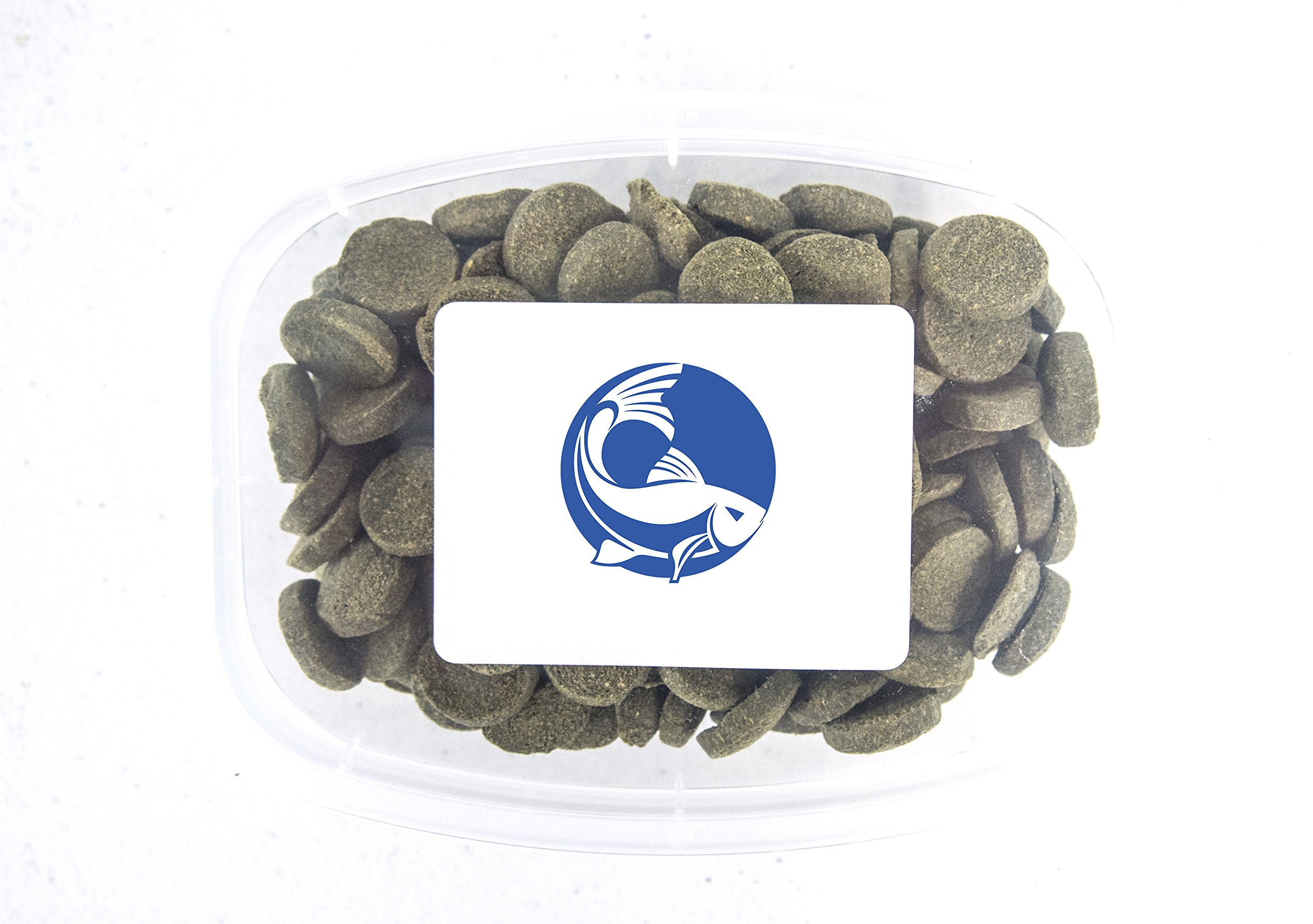 Aquatic Arts Algae Wafers - Sinking Food for Live Aquarium Shrimp, Fish (Pleco / Tetra), Snails, Bottom Feeders - High Protein Spirulina Blend - 6oz