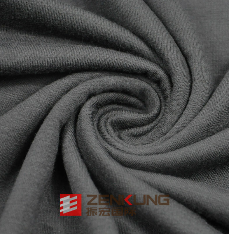 Polyester /Rayon Single Jersey Fabric With Spandex high quality
