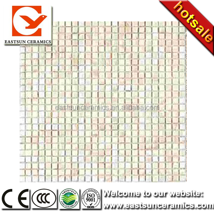 white mix colored mother of pearl shell mosaic tiles