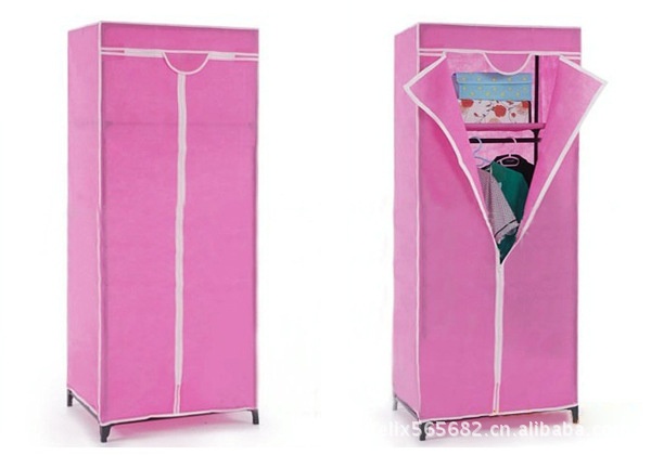 Non-woven bedroom furniture wardrobe closet combination folding wardrobes simple wardrobe cloth cabinet  closets guarda roupa