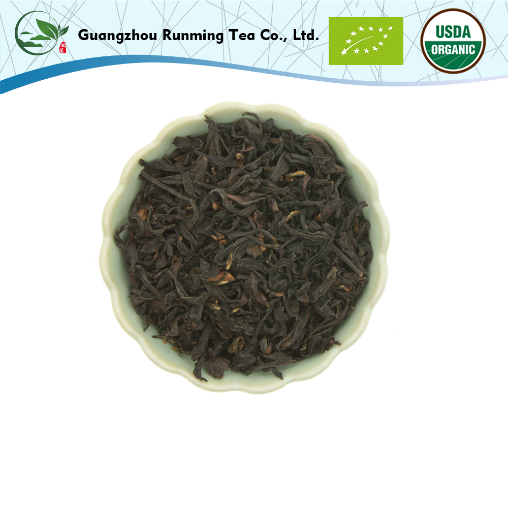 Dechunxian Taiwan Premium 100% Natural Organic Tea Leaves Jinxuan Black Tea