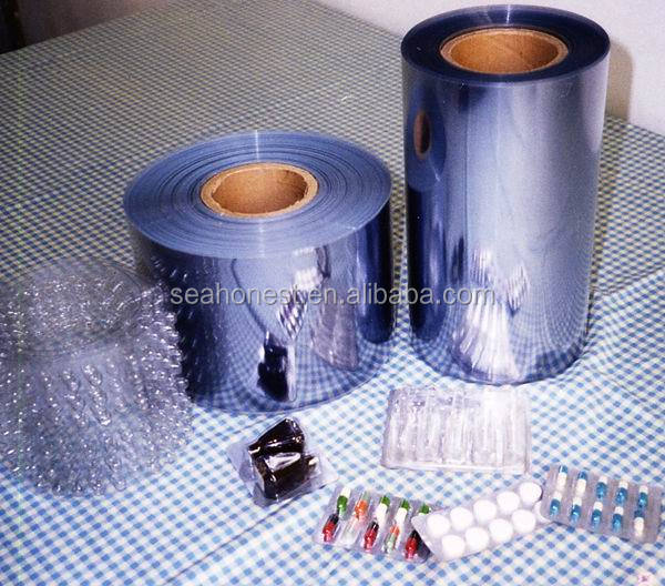 customized blister pvc sheet for packing