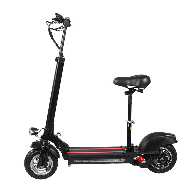 Folding 10inch Electric Scooter 800W 1000W 48V Electric Bike Scooter With Dual Motors, N/a