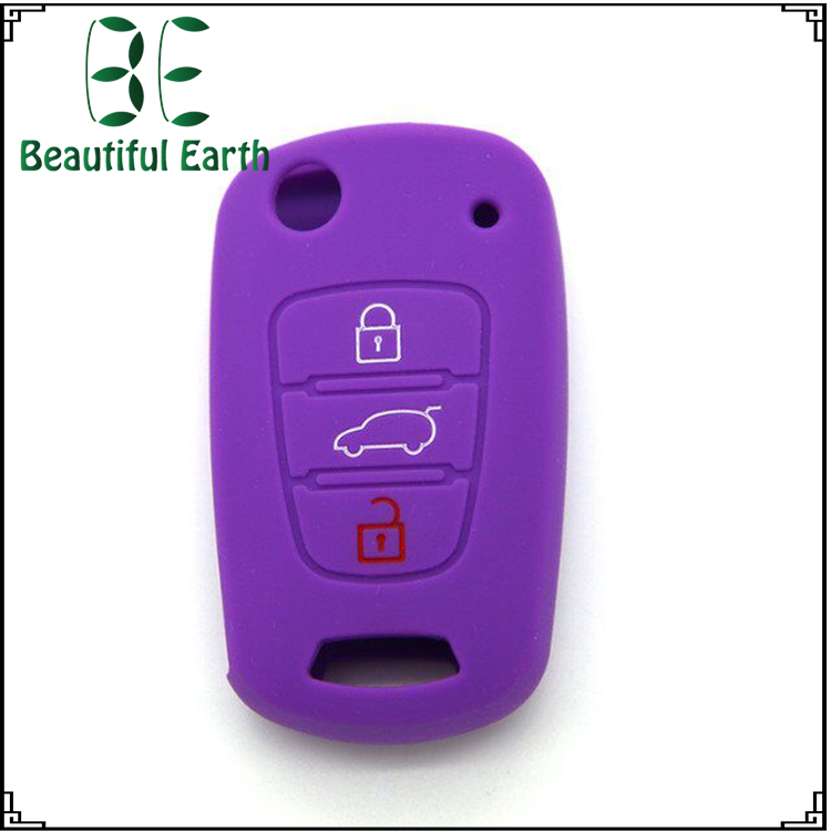 2017 hot best Silicone car key cover case shell accessories for ki a sportage with good price
