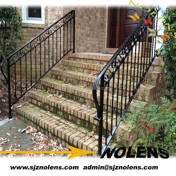 Wrought Iron Railings Used Of Twisted Square Steel Forged Bars Types