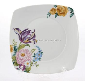 restaurant ceramic plates dishescustom printed ceramic platebulk white ceramic dinner plates  sc 1 st  Alibaba & Restaurant Ceramic Plates DishesCustom Printed Ceramic PlateBulk ...