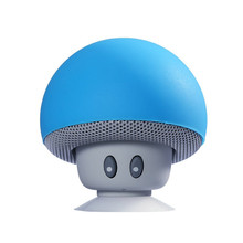 MIDU M-B3 Portable Mini Wireless Bluetooth Speaker Silicone Suction Cup Mushroom Audio Speaker