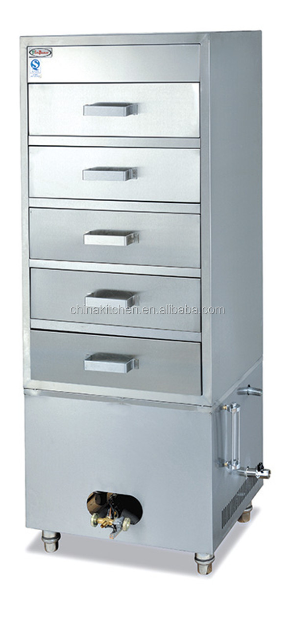 Restaurant/hotel Prfessional Gas Seafood Steamer Cabinet Gh-5j ...