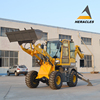 2018 new style! China brand mini cheap backhoe wheel loader with CE
