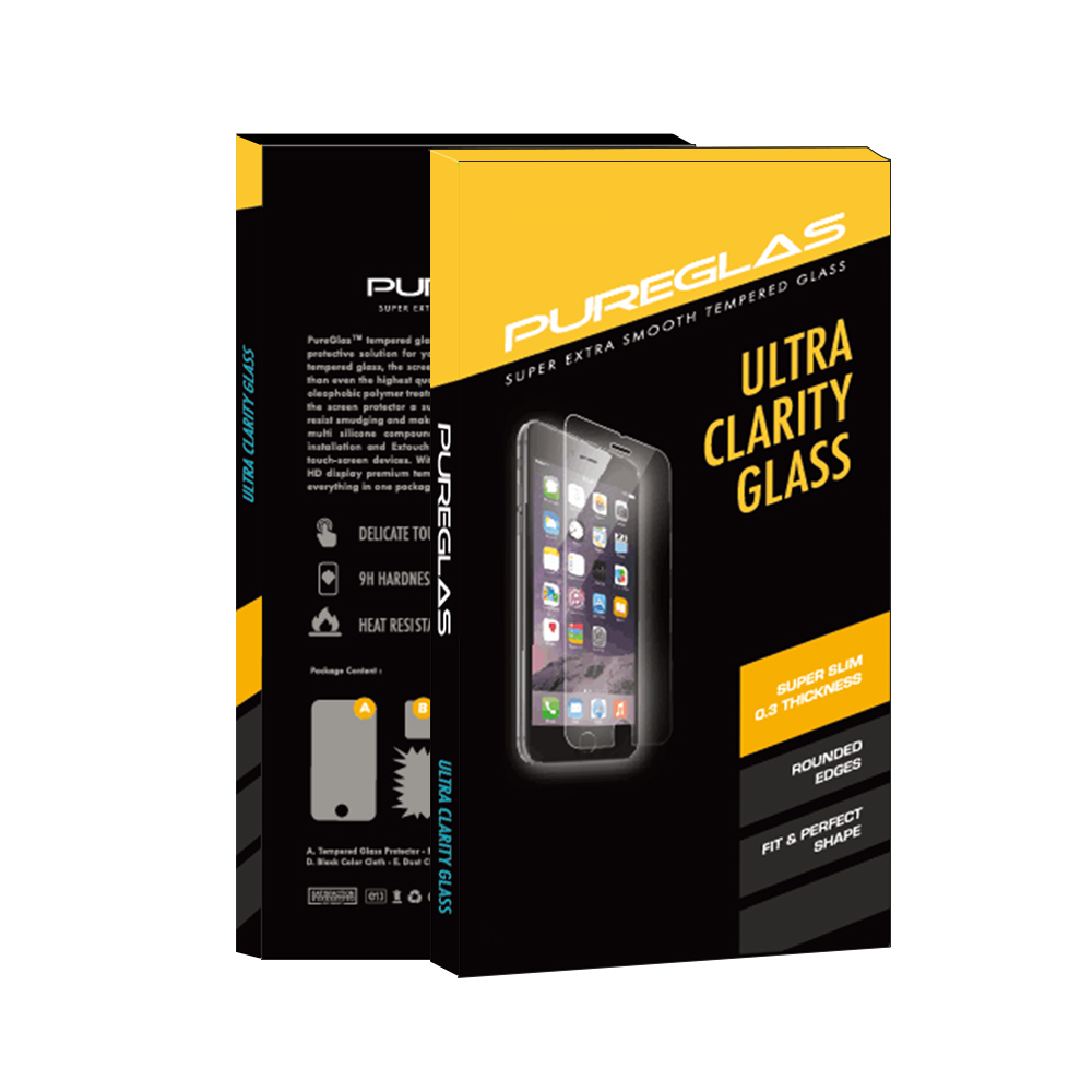 Anti Scratch 9H Hardness 2.5D <strong>flat</strong> Ultra-Thin 0.3mm Tempered Glass X Power3 3