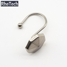Hot Selling Rustproof Stainless Steel Shower Curtain Rings Hooks For Shower Curtain Fittings