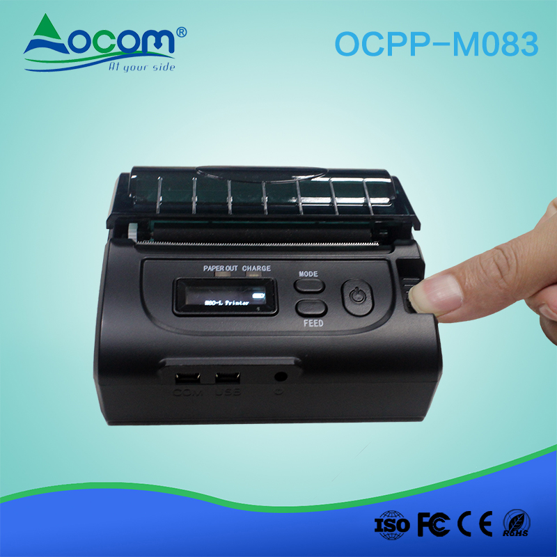POS Mobile 80MM Bluetooth/wifi Thermal Printer for handheld