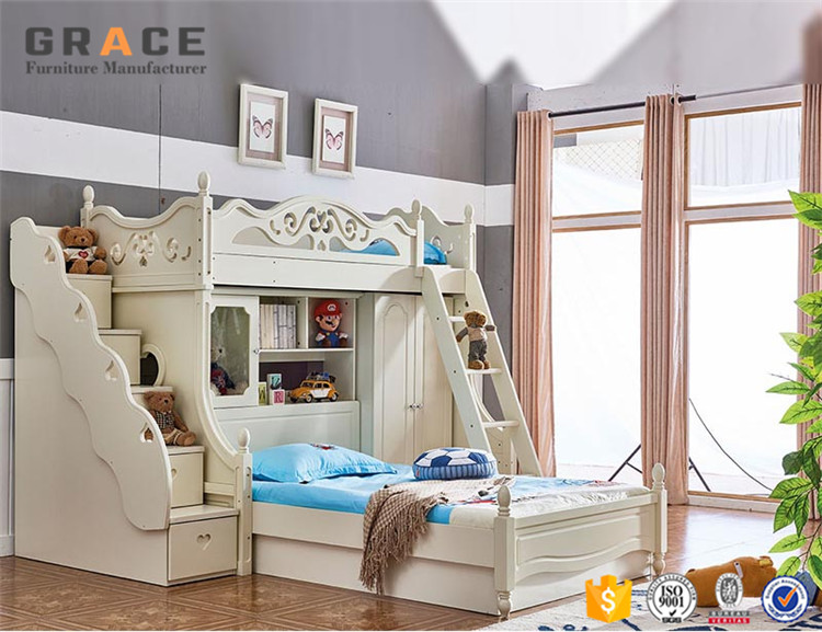 Kids Bunk Bed Set Children Bedroom Furniture - Buy Bunk Bed,Children  Bedroom Set,Kids Bed Bedroom Furniture Product on Alibaba.com
