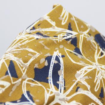 Hot Selling Cotton Printed Yellow Gray Fabric - Buy Yellow Gray ...