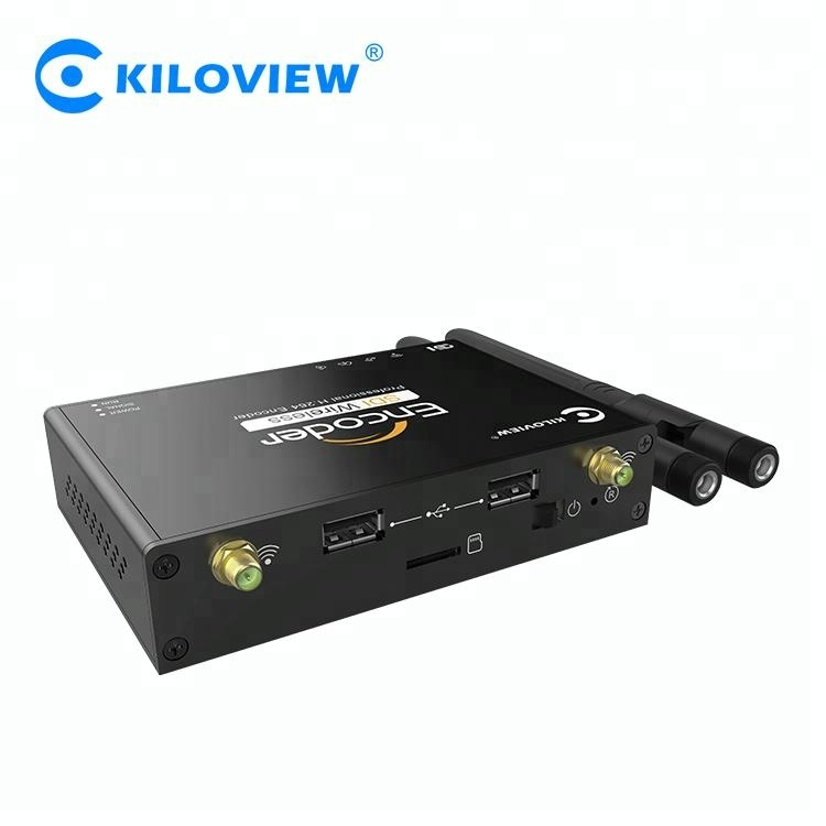 Apparecchiature di trasmissione 1080 P HD SDI Video Transcoder H.264 IPTV In Streaming Video Encoder