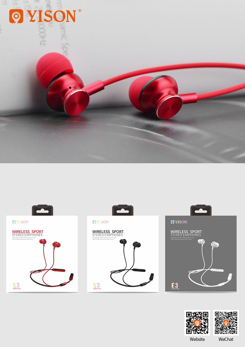 c3d1909734e ... YISON E3 Wireless Sport Headphones Consumer Electronics Cheap Wireless  Headphone Wireless Earphone For Accessories Mobile Phone