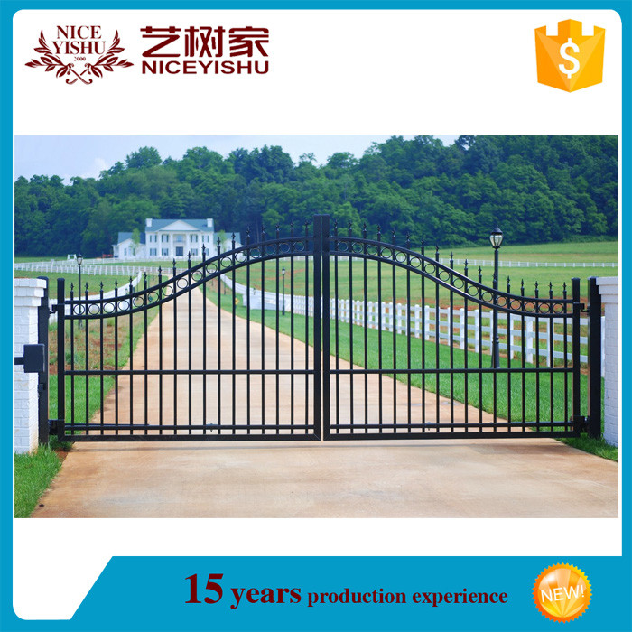 Duragates Sliding Gate System In The Philippines: 2016 New Alibaba Decorative Cheap Philippines Aluminum