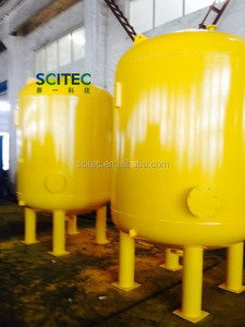 SCITEC Industrial mechanical sand filter for water treatment system/activated carbon filter/multi-media filter