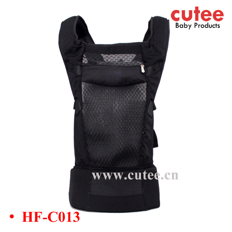 High Quality Fashion Cotton Backpack 3D Mesh Frame Material Baby Carrier Sling Wrap
