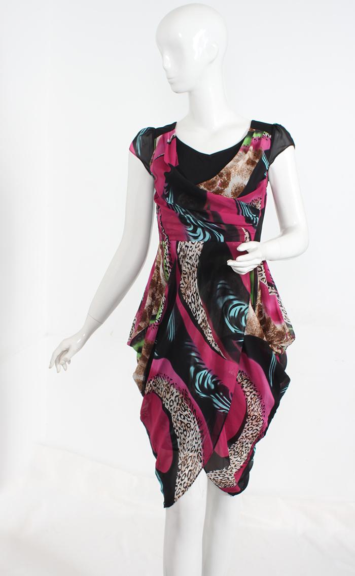 b89e921652d64 Get Quotations · 100% natural silk loose dress