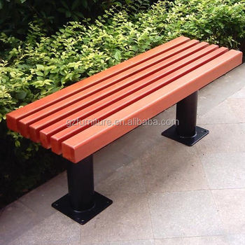 Awe Inspiring Plastic Wood Backless Garden Bench Buy Backless Garden Bench Cast Iron Bench For Sale Outdoor Wood Bench Product On Alibaba Com Dailytribune Chair Design For Home Dailytribuneorg