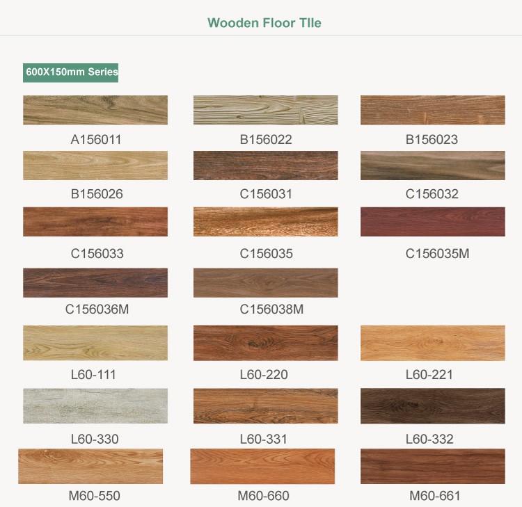 Foshan Custom Made Wooden Like Vitrified Living Room Porcelain Floor Tile From SITCO