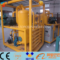 Improving dielectric strength for insulation oil/Used insulating oil reclaimer