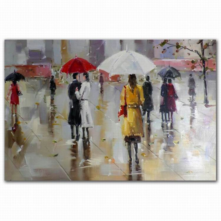 modern european wall decor romantic lovers abstract canvas oil painting wholesales