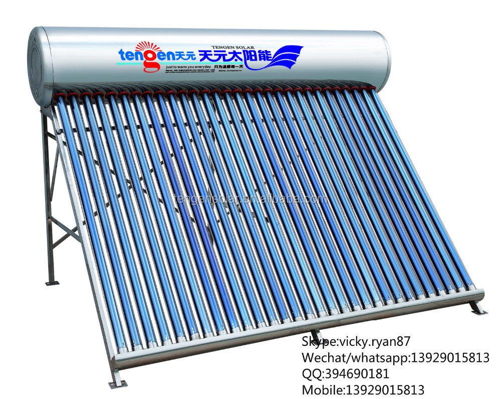stainless steel camping solar water heater machinery manufacturer