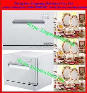 Automatic household dishwashers