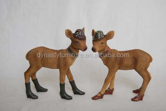Two deer shoes home decoration pieces Furnishing articles