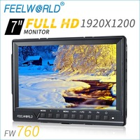 Top level AV input 7 inch hdmi input lcd screen with 1920*1200 full hd DSLR monitor