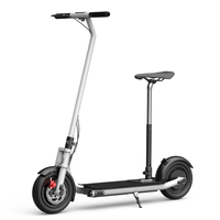 2019 Foldable 10inch electric scooters powerful 300w/600w electric steps 25km range