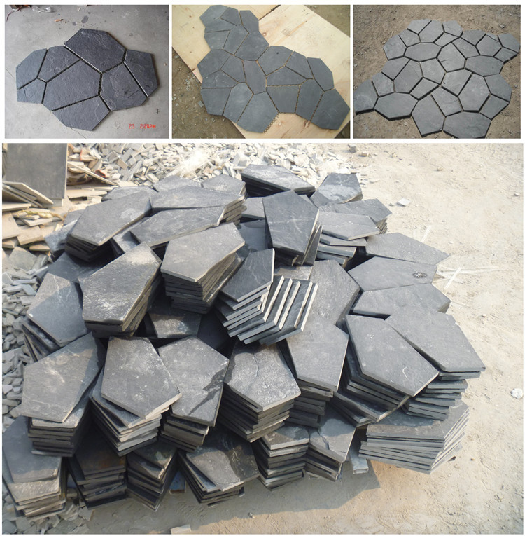 Wholesale cheap slate patio paver stones for sale