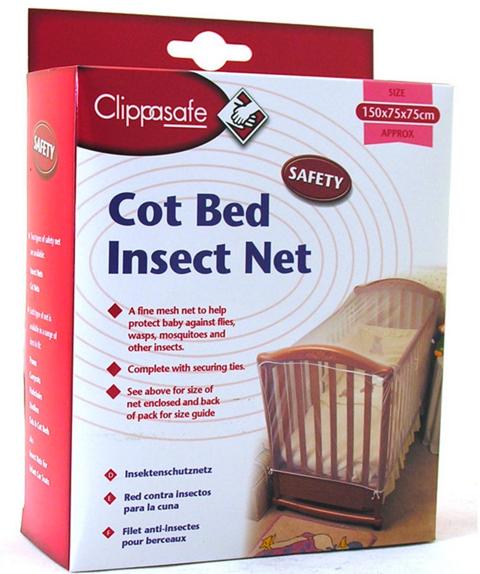 Clippasafe Red mosquitera para cuna