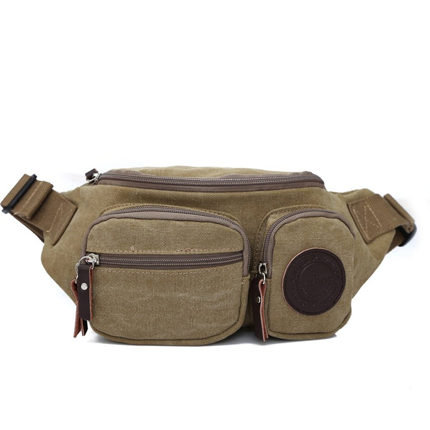 9c1caadc26 Get Quotations · YGORUI Outdoor Sports Casual Bags One Shoulder Bag Sling  Bag Canvas Backpack Rucksack Backpack Hiking Running