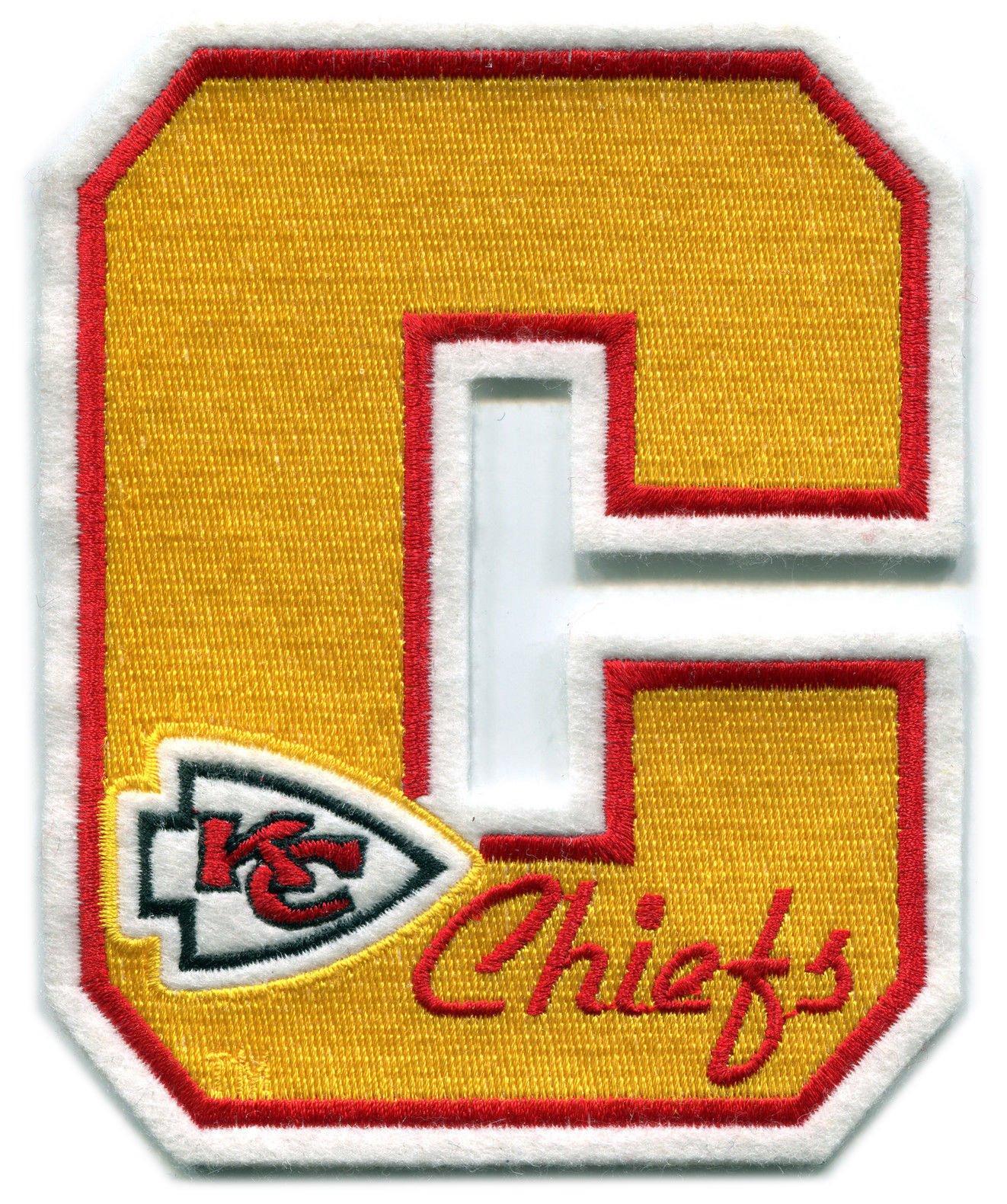 Buy Kansas City Chiefs Nfl Football Vintage 5 Letter Logo Team