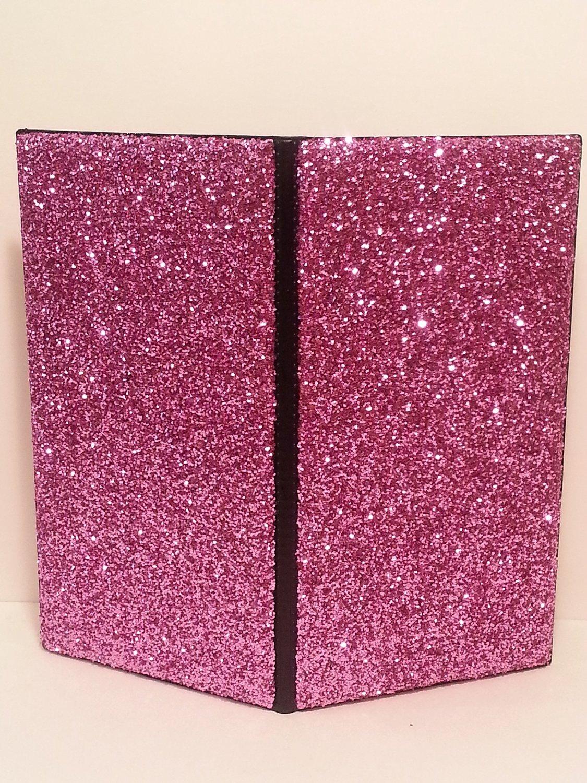 Glitter Waitstaff Organizer Server Book (Front & Back Glittered)