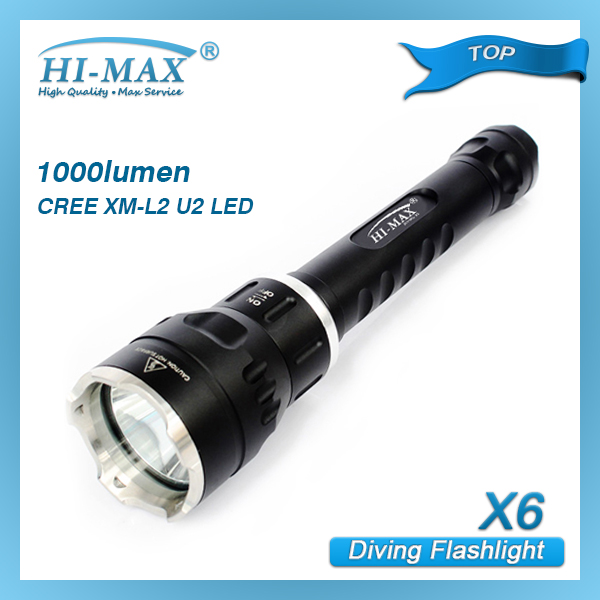 Wholesale Magnetic Rotate Switch Diving Powerful Led Flashlight ...