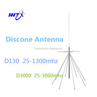 omnidirectional 100% D130 super Discone HF broadband 25-1300mhz base station antenna