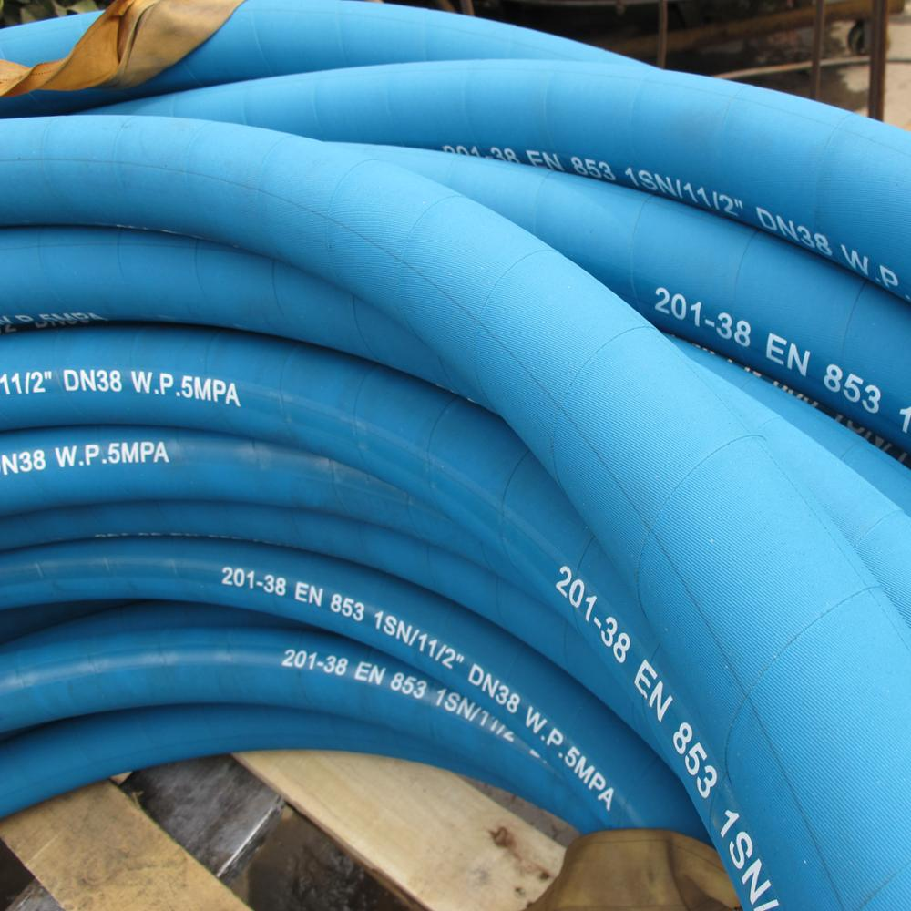 Steel Wire Braided Hydraulic Rubber Hose Wholesale, Rubber Hose ...