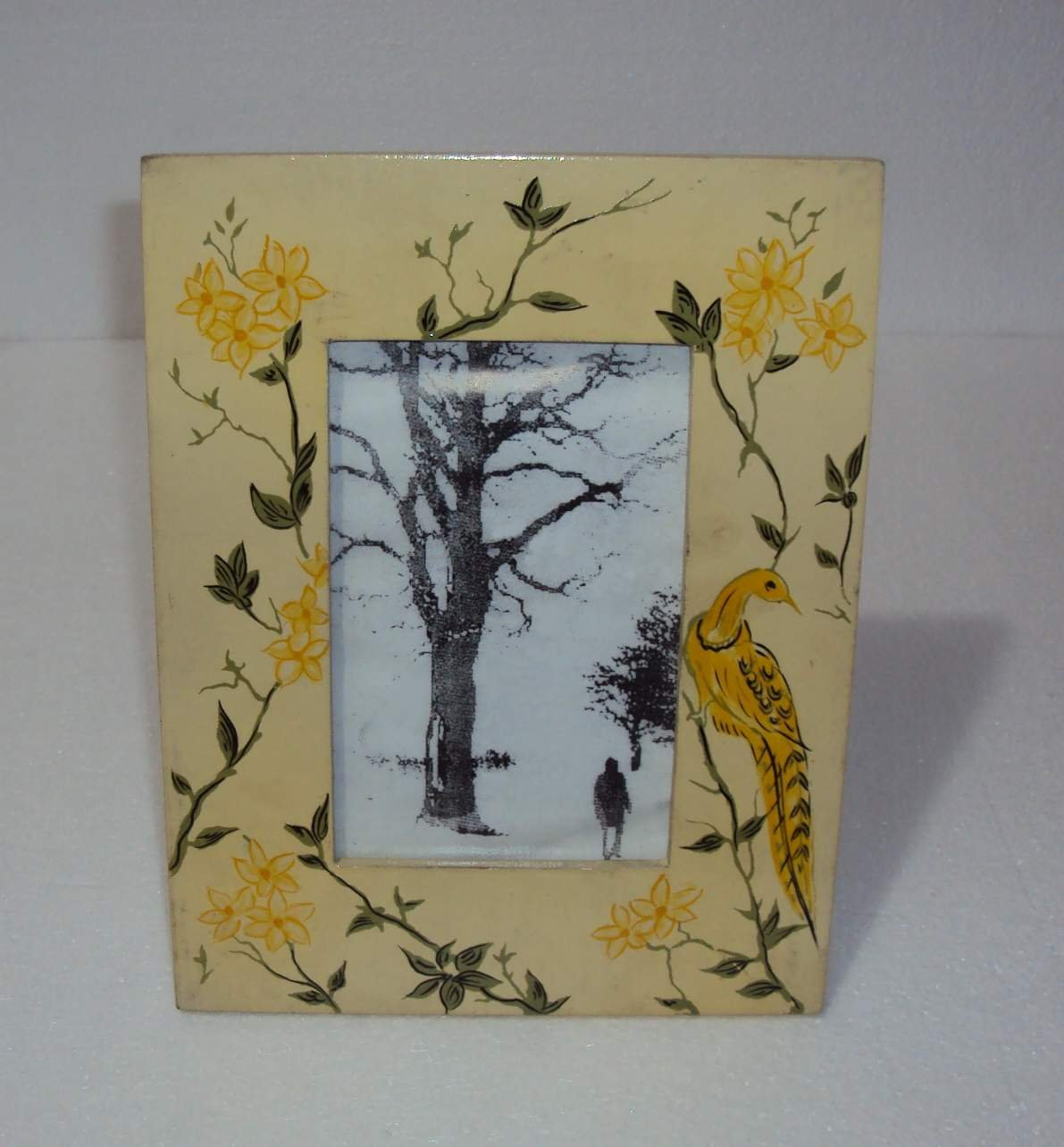Hand Painted Wooden Picture Frame - Buy Picture Frame Product on ...
