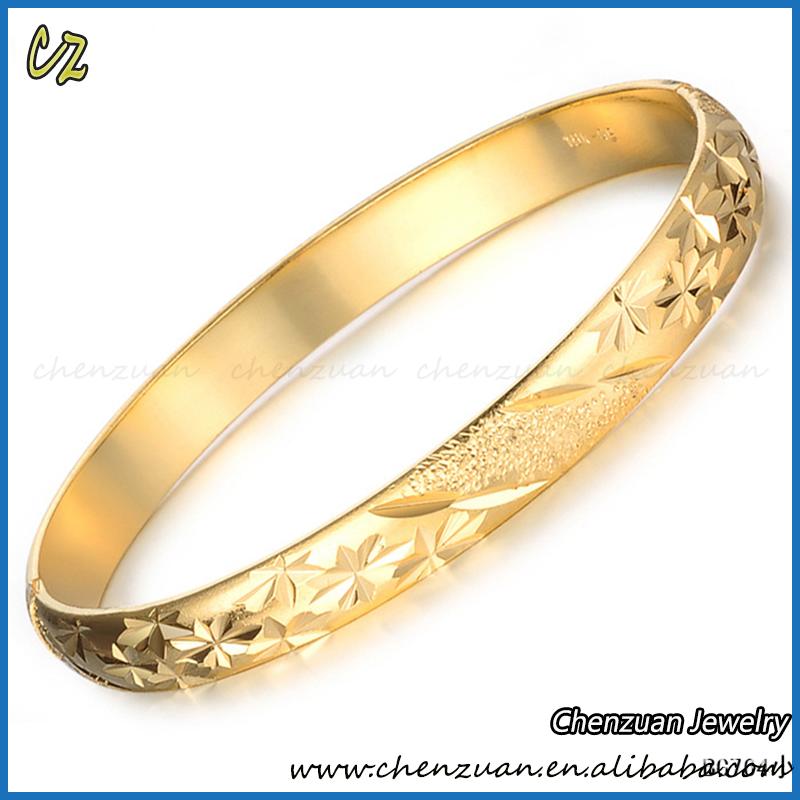 Bulk Sale Indian Gold Bangles Latest Designs 18k Solid Gold Bangles ...