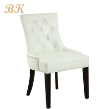 Modern French Room Master Home Furniture PU Leather Dining Chair